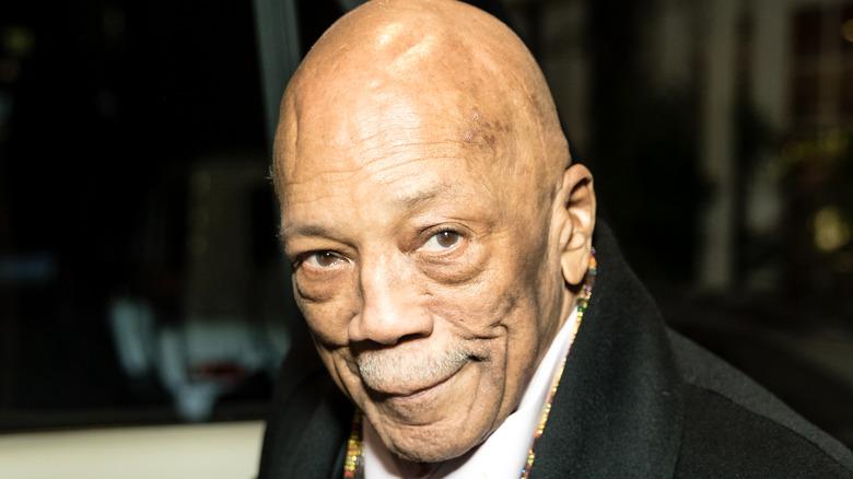 Quincy Jones smiling