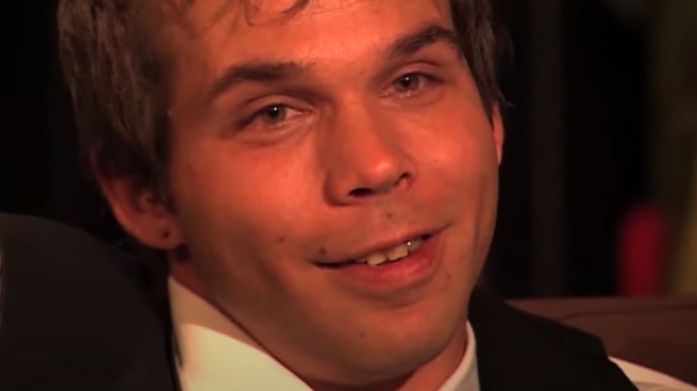 Jeremiah Raber smiling in a clip from Breaking Amish