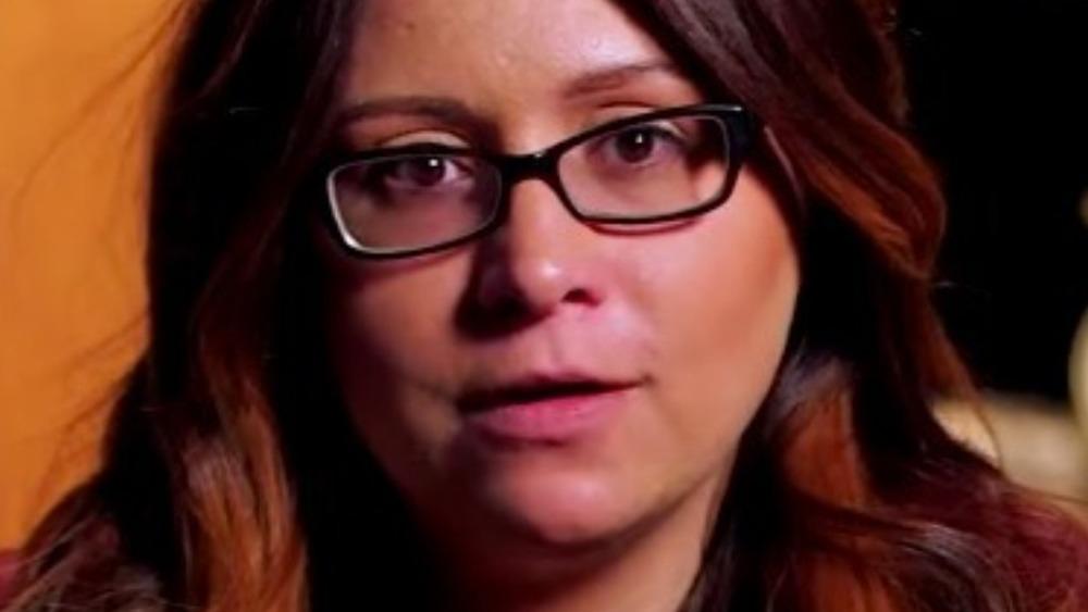 Sabrina Burkholder in TLC confessional