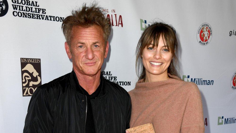 Leila George and Sean Penn