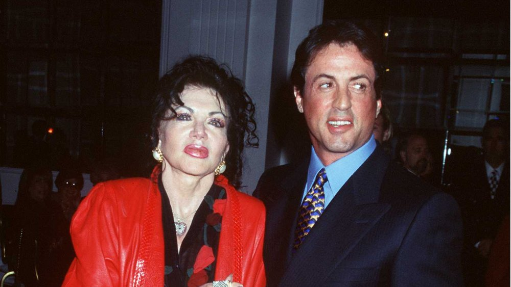 Sylvester Stallone and hi mother Jackie