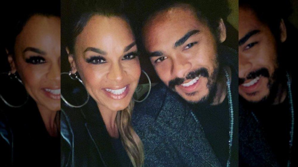 Sheree Zampino and Trey Smith