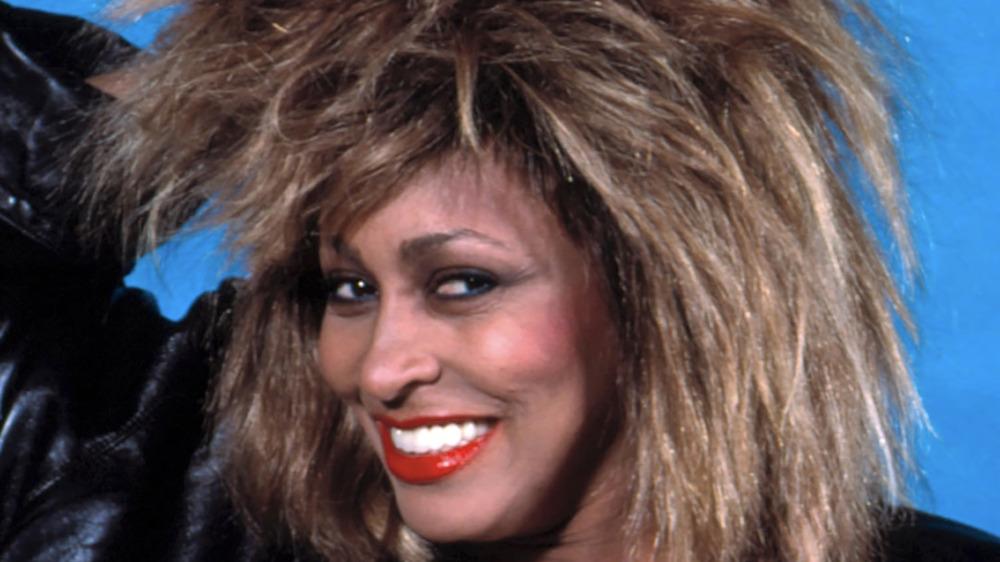 Tina Turner smiling