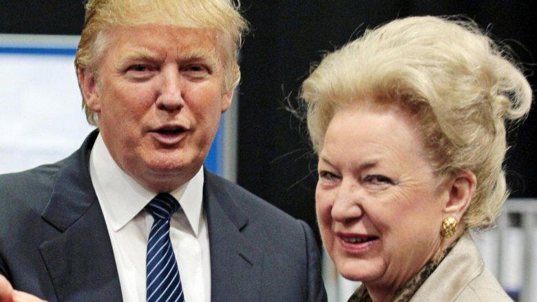 Donald Trump, Maryanne Barry Trump