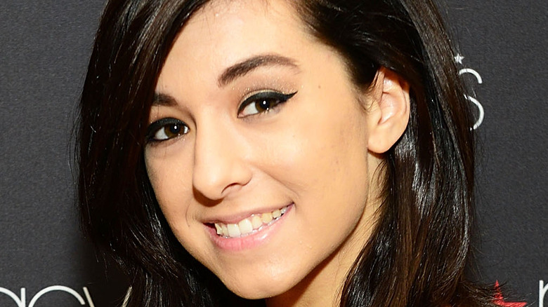 Christina Grimmie attends at Macy's iHeartRadio rising star in-store performance