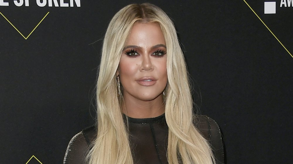 Khloe Kardashian at the 2019 People's Choice Awards