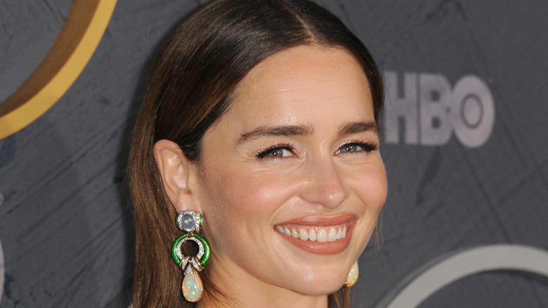 Emilia Clarke at an HBO event