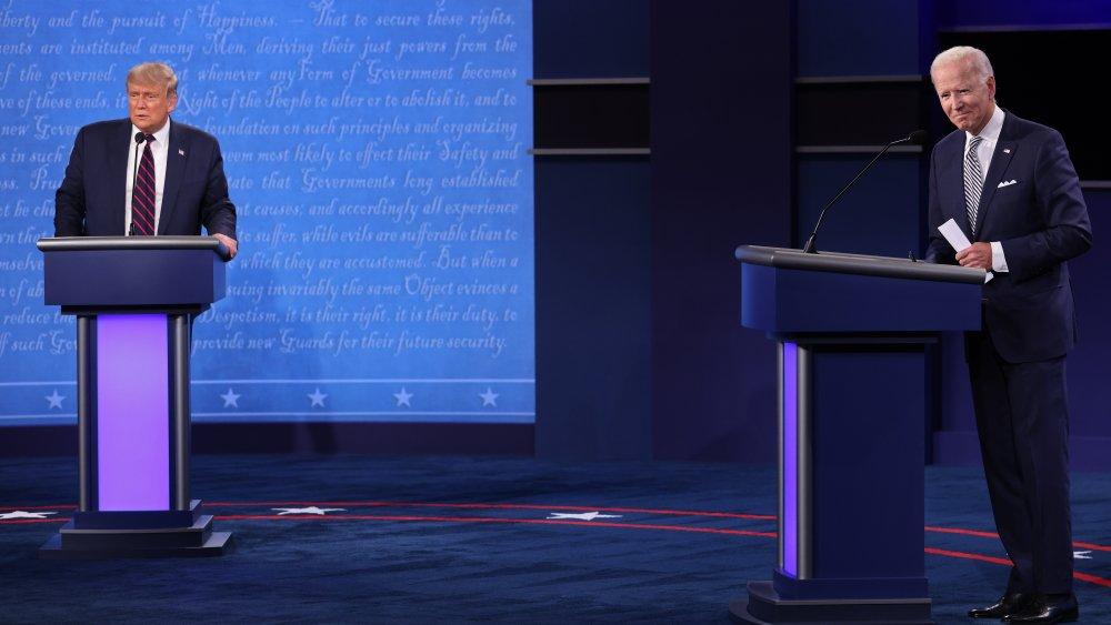 Donald Trump & Joe Biden at debate