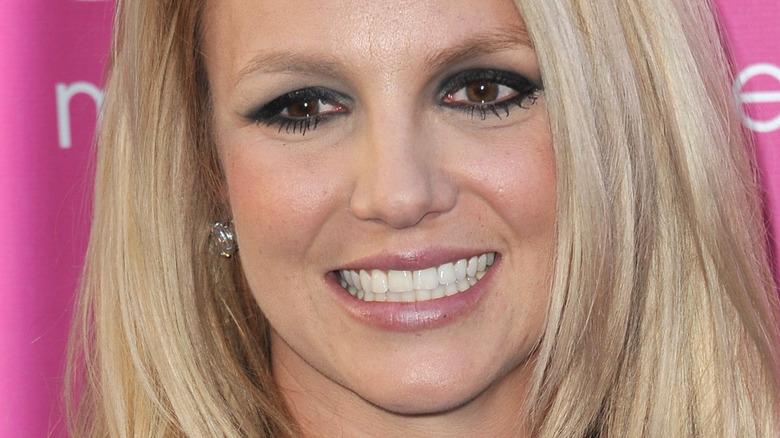 Britney Spears dark eyes