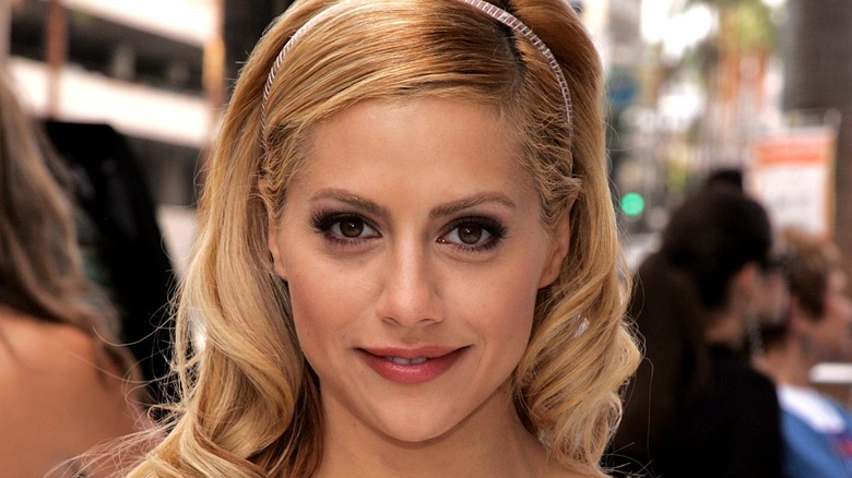 Brittany Murphy at event