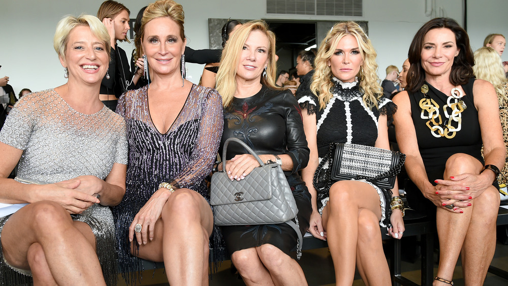 Real Housewives of New York cast sitting