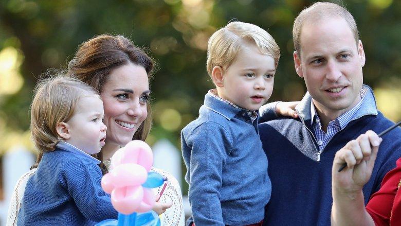 Princess Charlotte Kate Middleton Prince George Prince William
