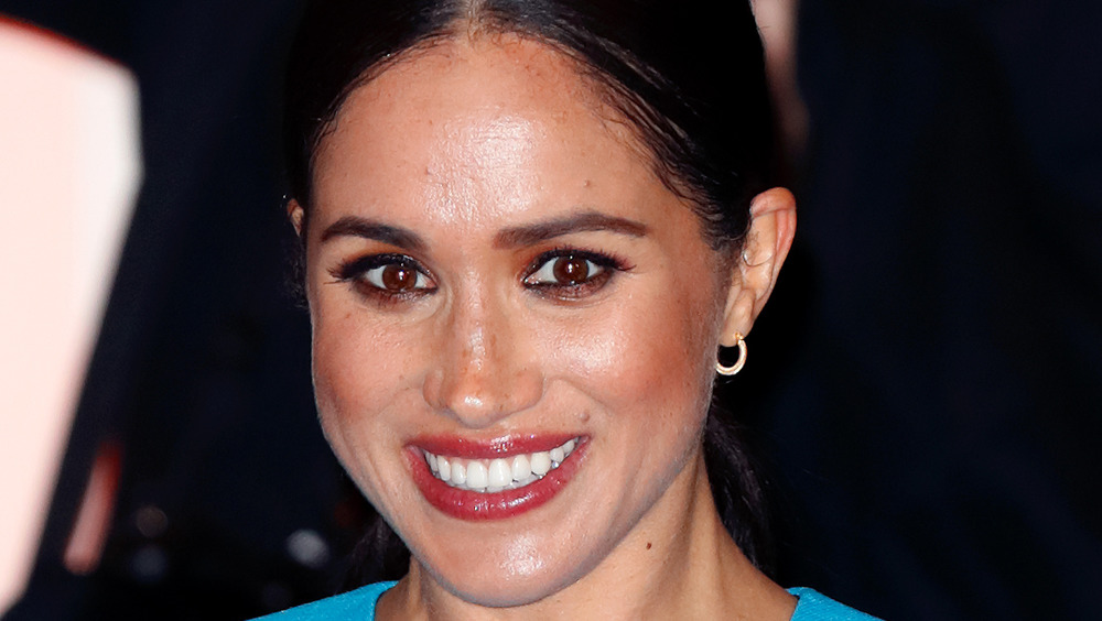 The Duchess of Sussex attends an event in 2020
