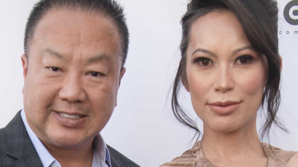 Dr. Gabriel Chiu and Christine Chiu smiling