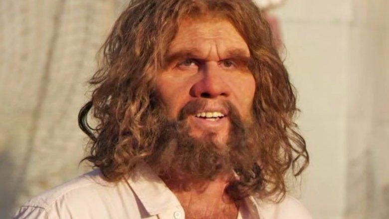 John Lehr as the GEICO caveman