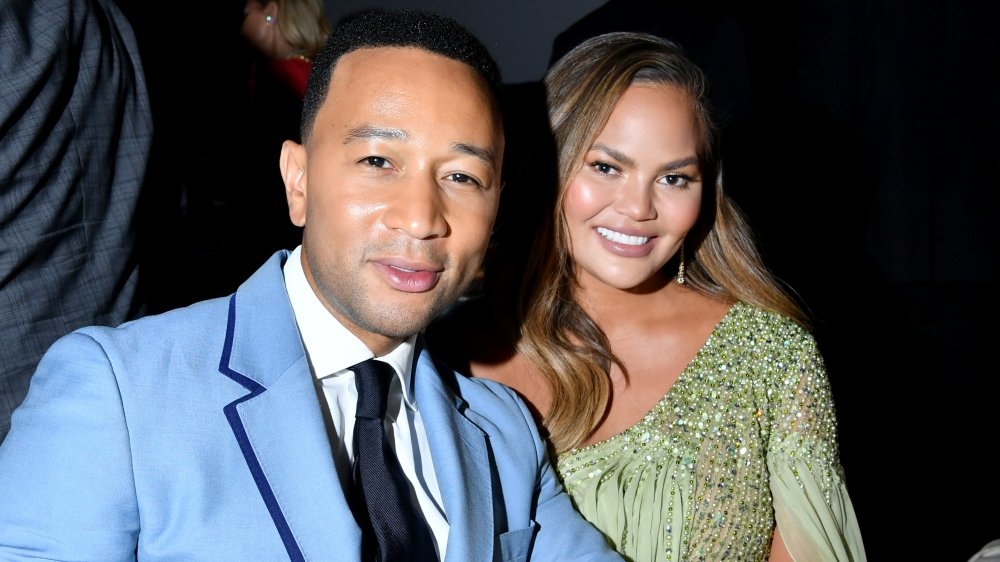 John Legend and Chrissy Teigen attend the 2019 Baby2Baby Gala presented by Paul Mitchell