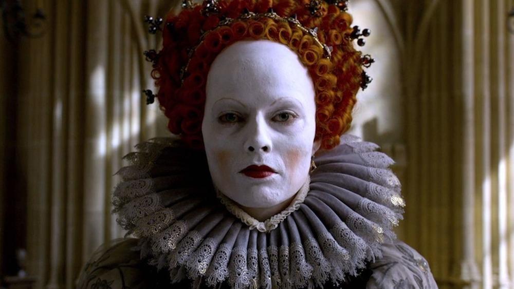 Margot Robbie as Elizabeth I