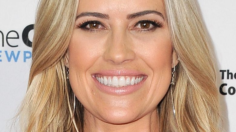 Christina Haack smiling
