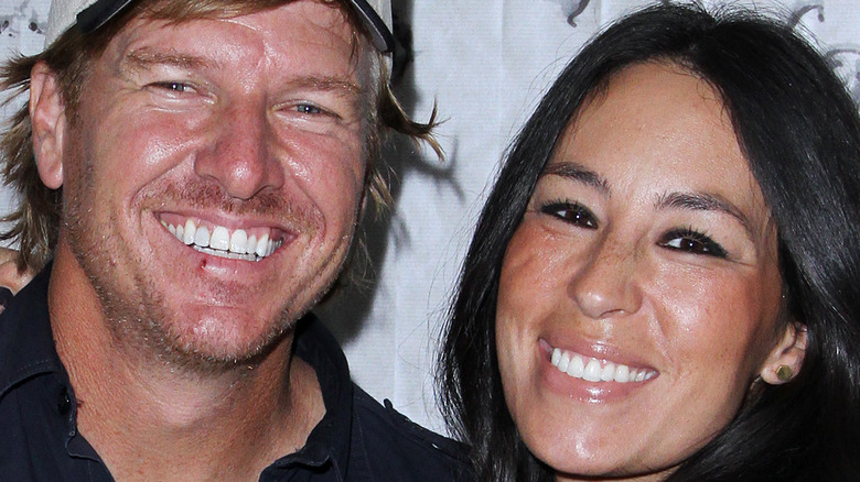 Chip and Joanna Gaines on the red carpet