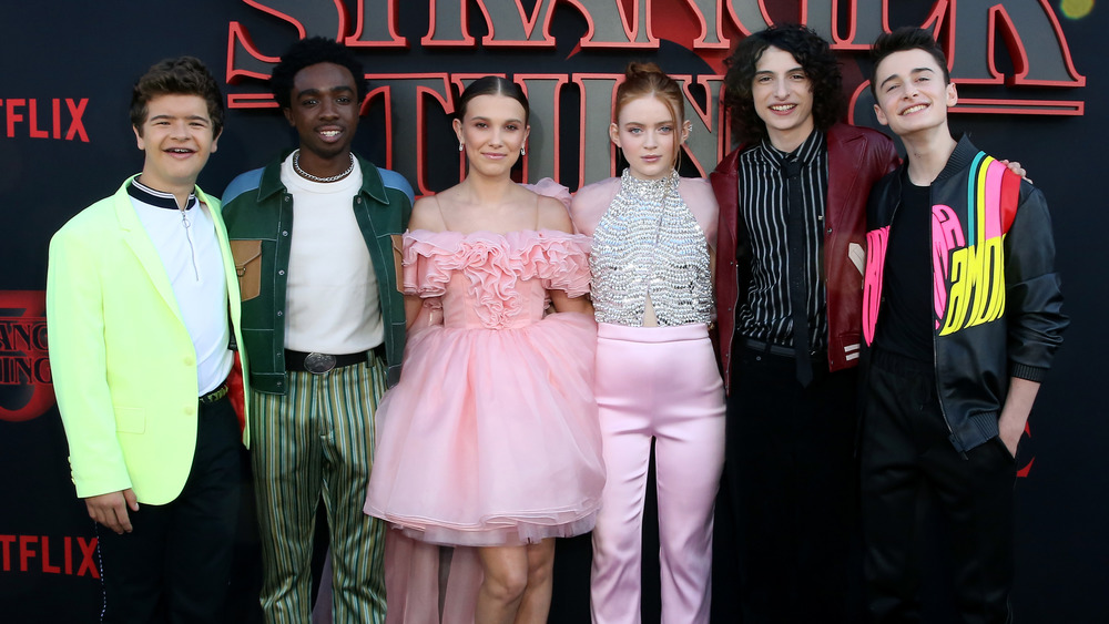 The Stranger Things cast at the Season 3 premiere