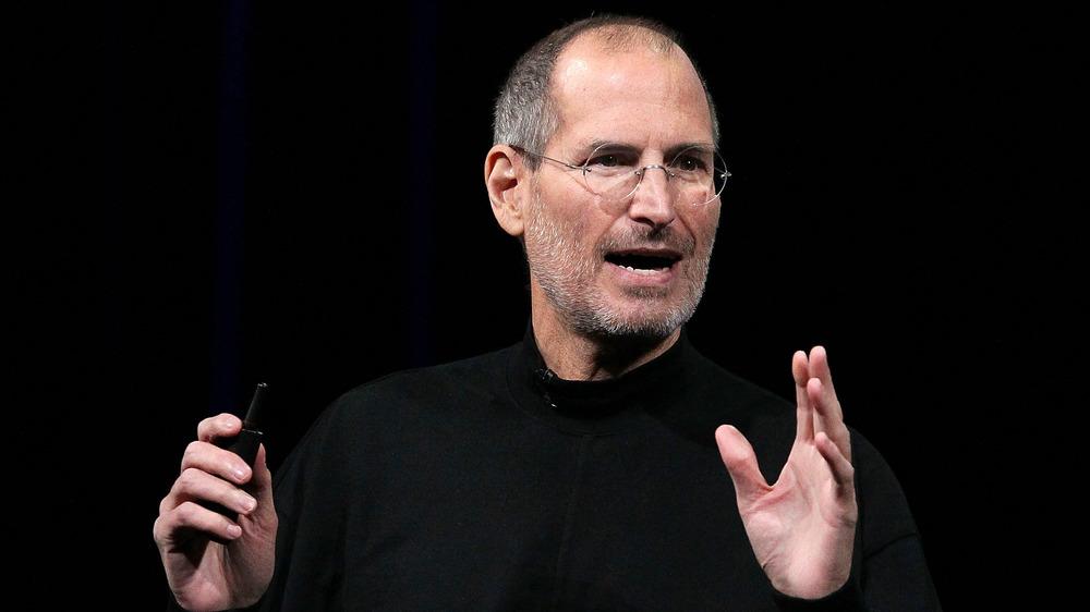 Steve Jobs speaking