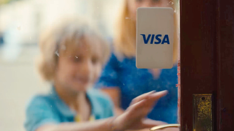 A screenshot from Visa's new 2021 commercial