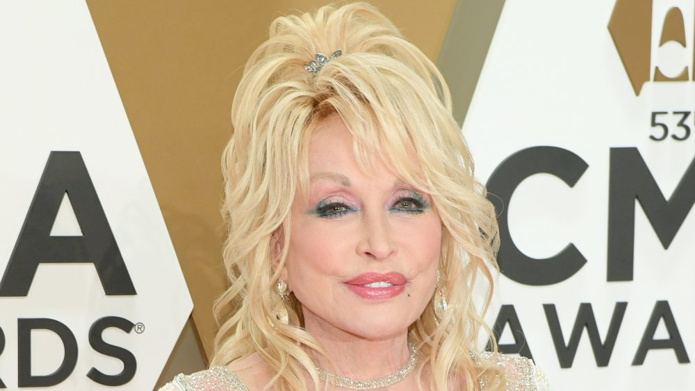 Dolly Parton attends the 53rd annual CMA Awards at the Music City Center