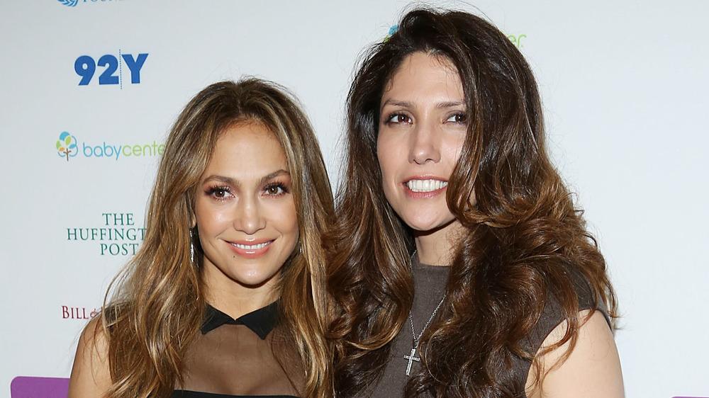 Jennifer Lopez and Lynda Lopez