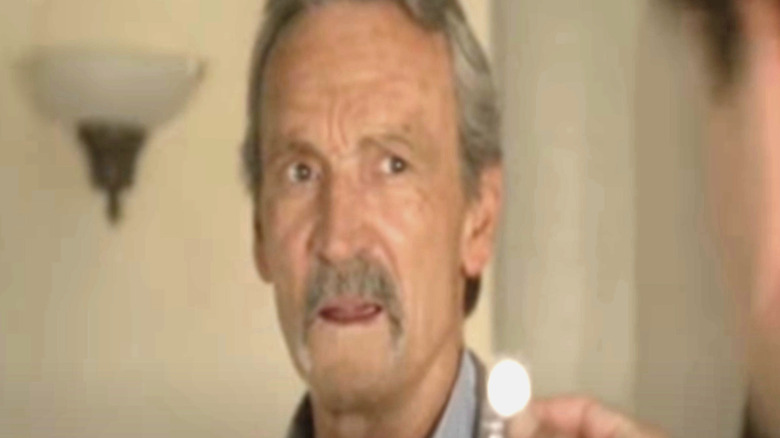 Muse Watson as Mike Franks, looking concerned, screenshot of episode