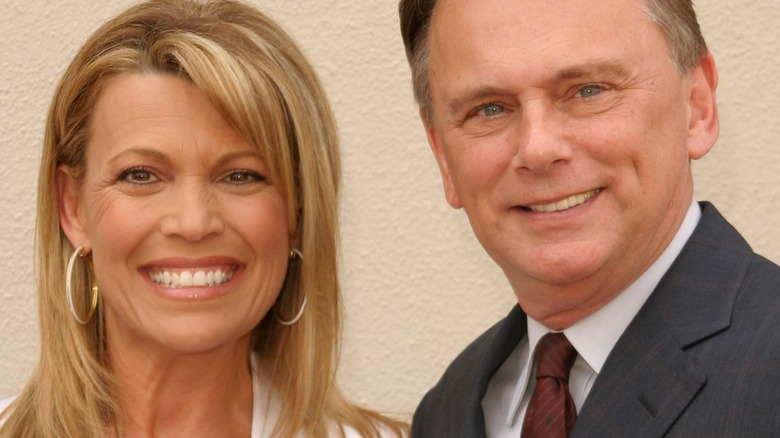 Pat Sajak and Vanna White of Wheel of Fortune
