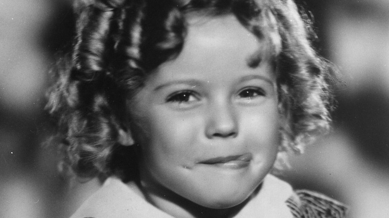 Shirley Temple posing in 1928