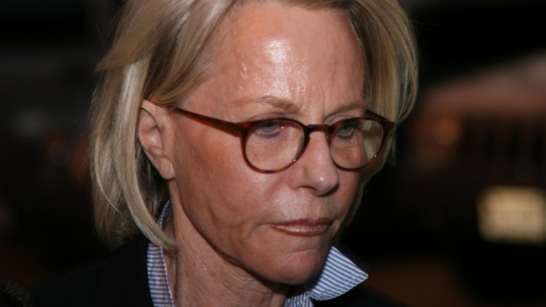 Ruth Madoff after visiting her husband in prison