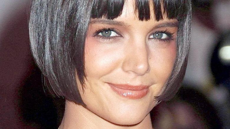 Katie Holmes with bob haircut
