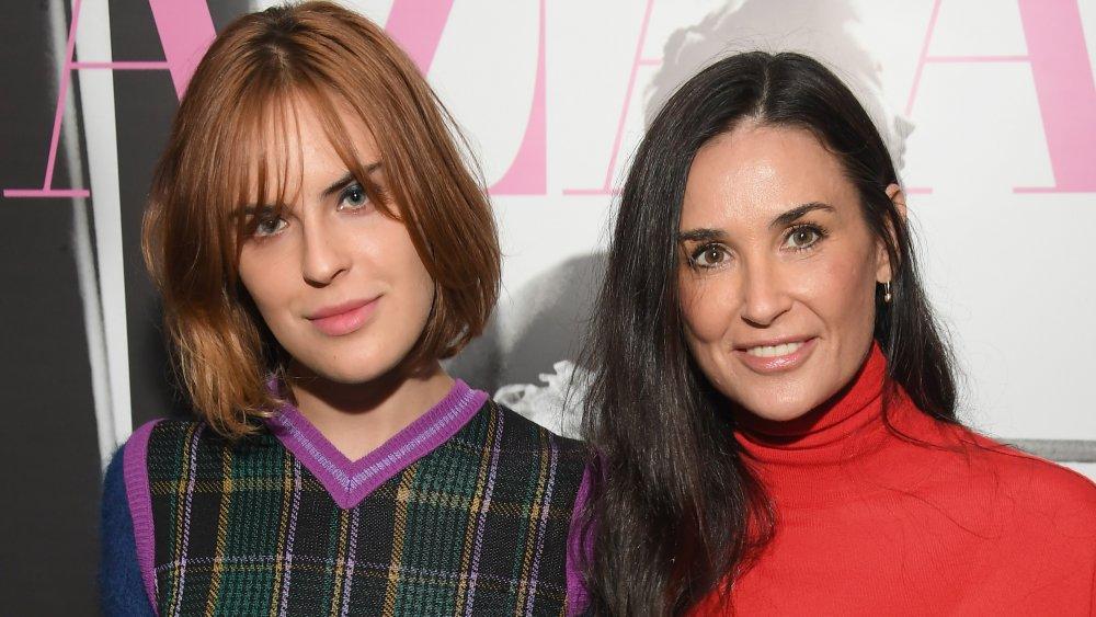 Demi Moore & her daughter Tallulah Willis