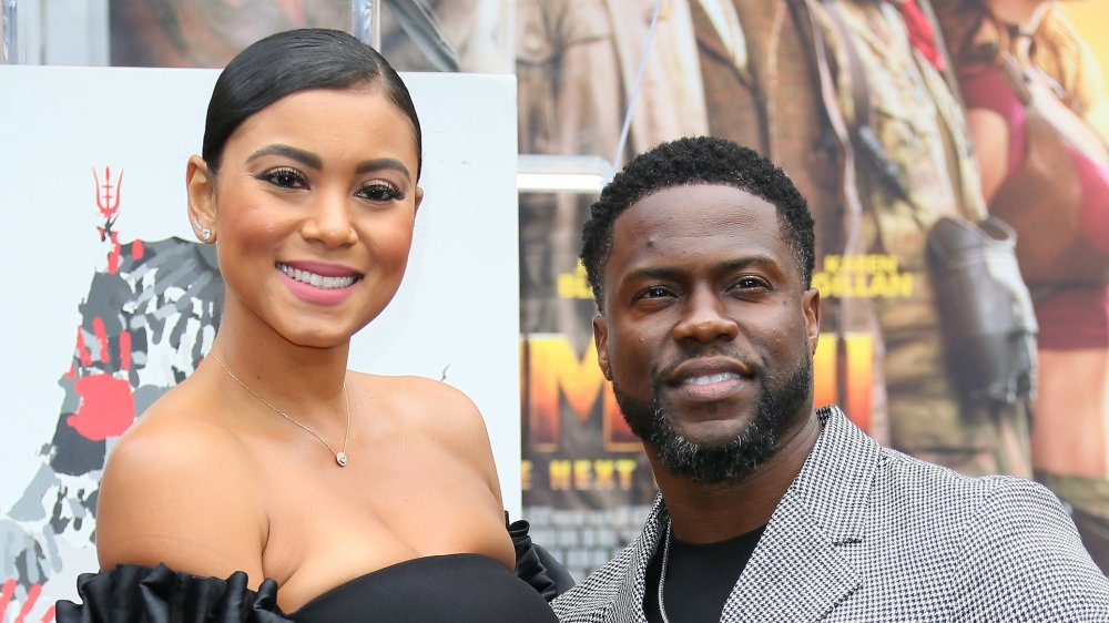 Kevin Hart & his wife Eniko Parrish