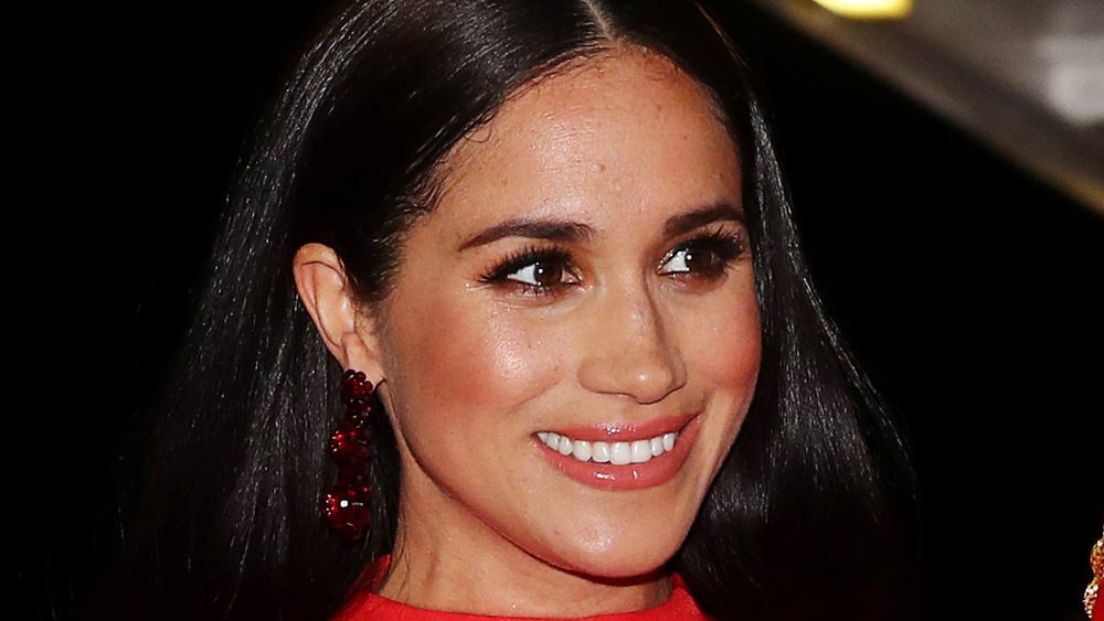 Meghan Markle in red