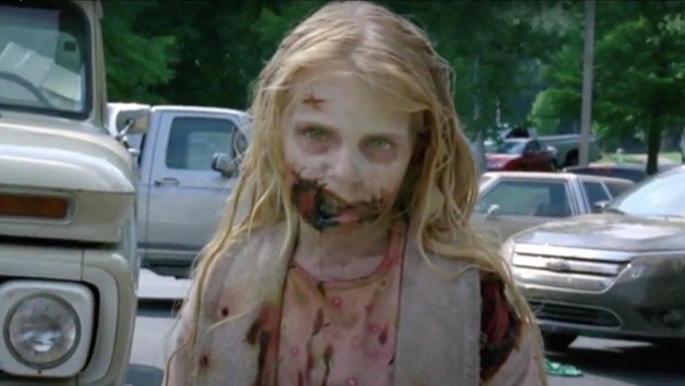 Addy Miller on The Walking Dead
