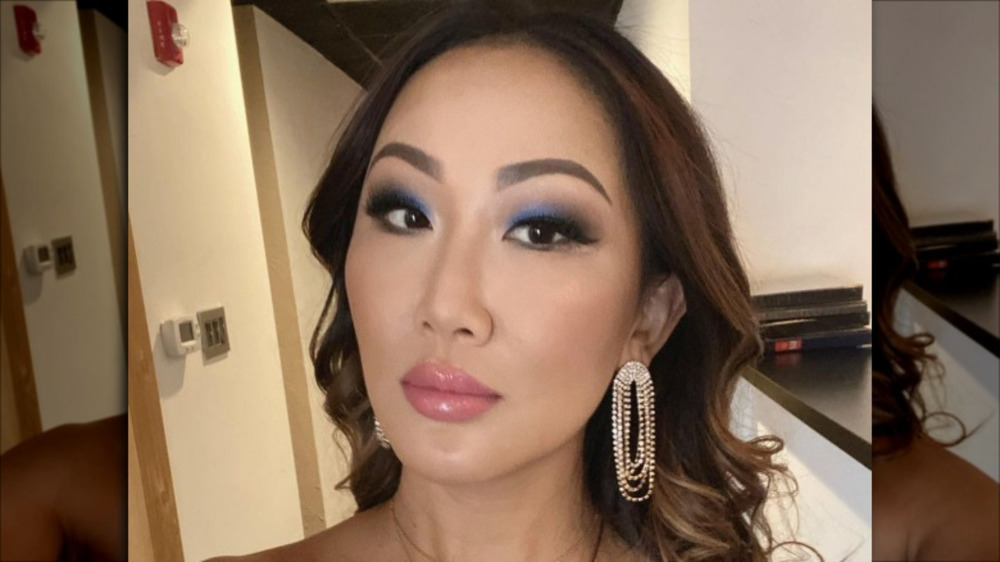Tiffany Moon posing for a selfie
