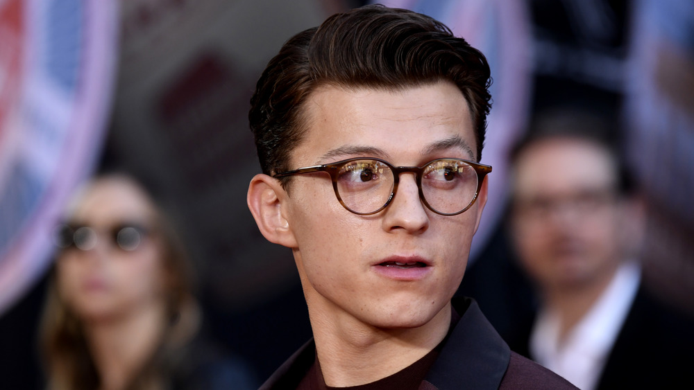 Tom Holland at the Spider-Man: Far From Home premiere