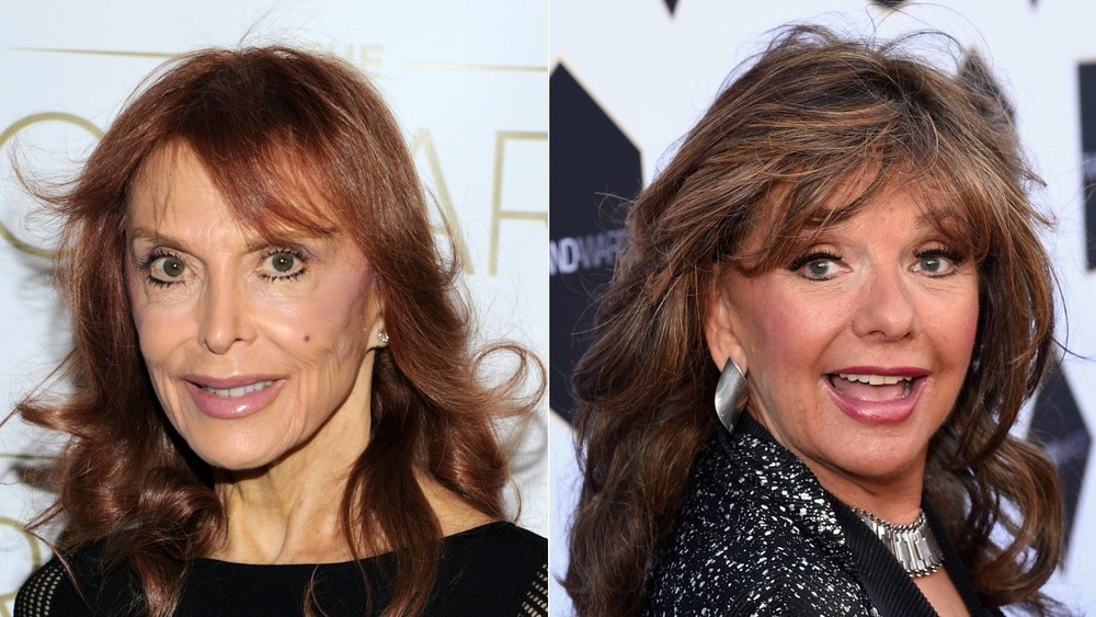 Tina Louise and Dawn Wells smiling