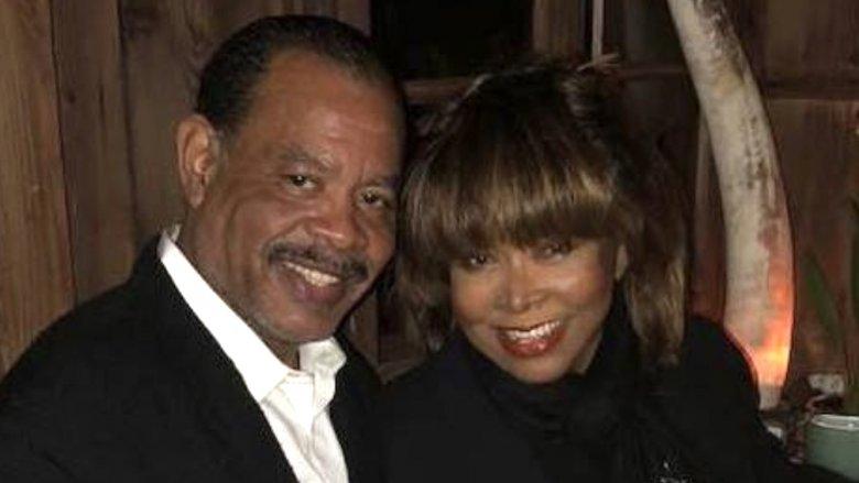 Tina Turner and son Craig Turner