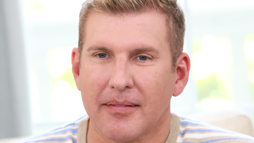 Todd Chrisley giving an interview
