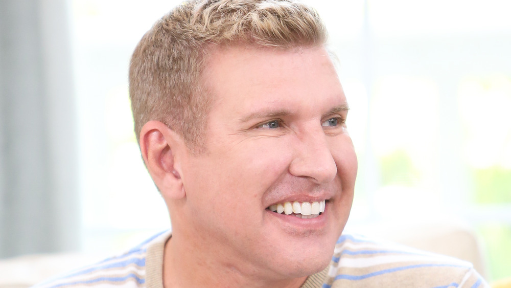 Todd Chrisley smiling in an interview
