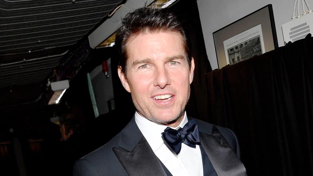 Tom Cruise at an award show