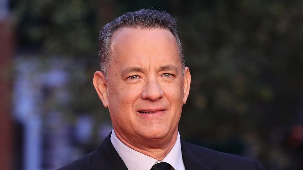 Tom Hanks smiling