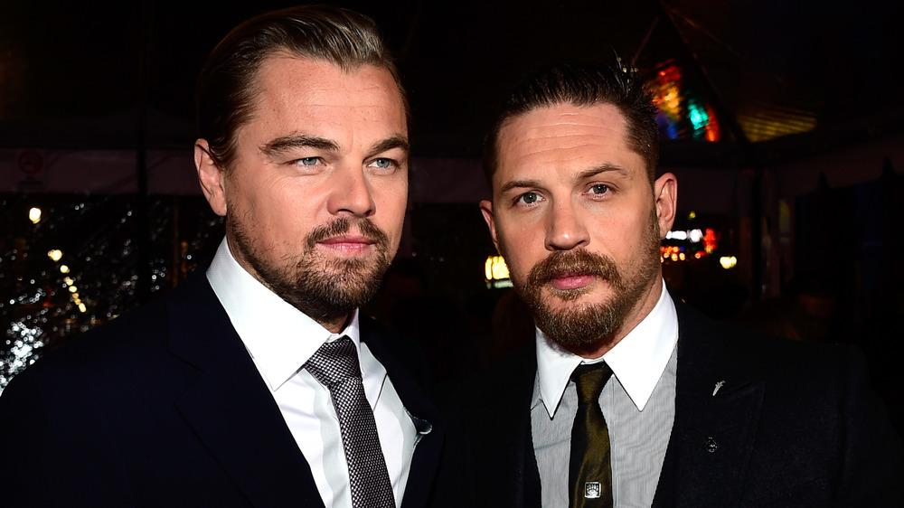 Tom Hardy and Leonardo DiCaprio red carpet
