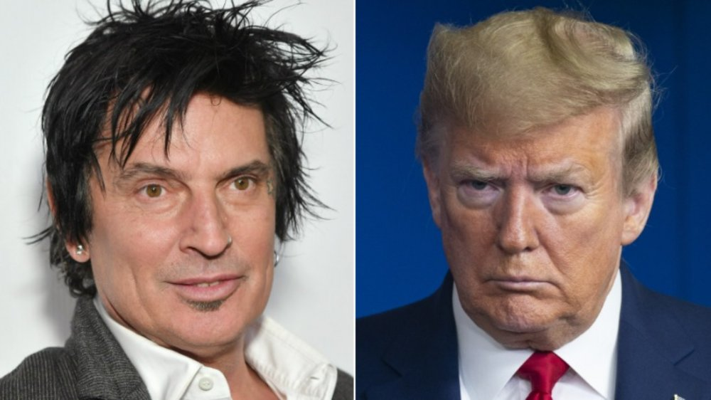 Tommy Lee; President Donald Trump