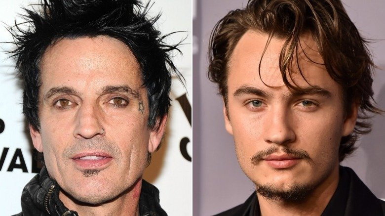 Tommy Lee and Brandon Lee