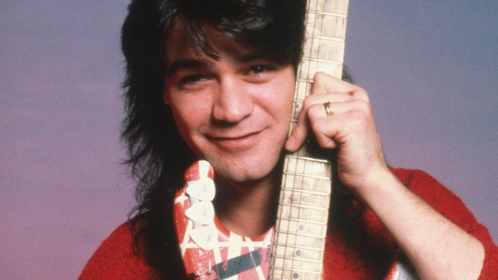 Eddie Van Halen on tour in 1986