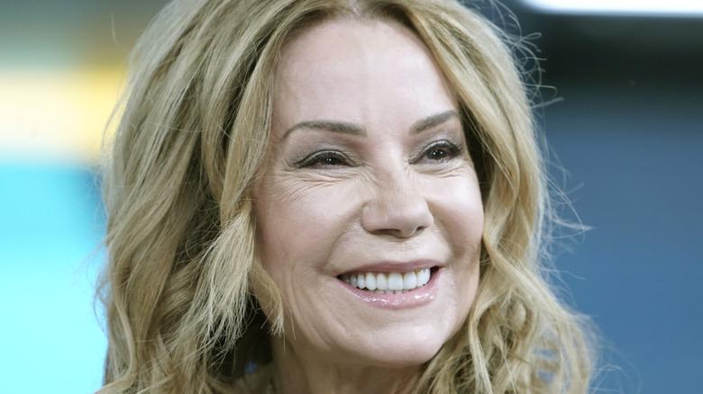 Kathie Lee Gifford squinting